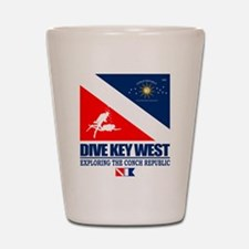 Dive Key West Shot Glass