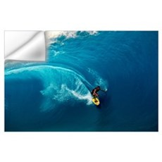 Man surfing in the sea Wall Decal
