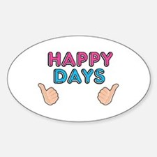 'Happy Days' Decal