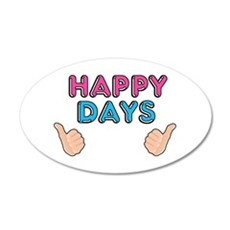 'Happy Days' Wall Decal