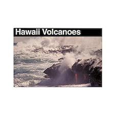 Hawaii Volcanoes Rectangle Magnet