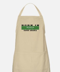 Born In Saudi Arabia Apron
