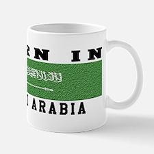 Born In Saudi Arabia Mug