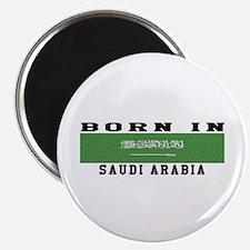 Born In Saudi Arabia Magnet