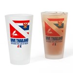 Dive Thailand Drinking Glass
