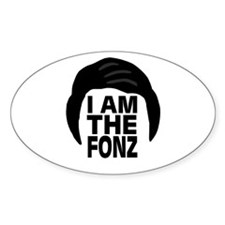'I Am The Fonz' Decal