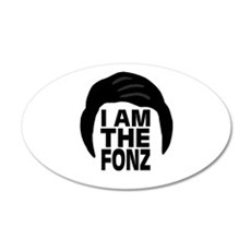 'I Am The Fonz' Wall Decal