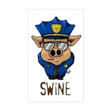 Swine Rectangle Decal