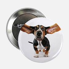"Dog long ears 2.25"" Button"