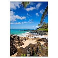 Hawaii, Maui, Makena, Maui Wai Or Secret Beach And