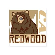 Redwood Grumpy Grizzly Sticker