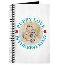 KEWPIE & DOODLE DOG: PUPPY LOVE Journal
