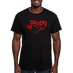 Daddy's Girl Men's Fitted T-Shirt (dark)