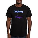 Scheduled Naptimes Men's Fitted T-Shirt (dark)
