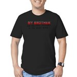 brotherbestbrother2.png Men's Fitted T-Shirt (dark