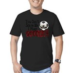 Soccer - No Fear Men's Fitted T-Shirt (dark)