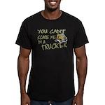 No Fear Trucker Men's Fitted T-Shirt (dark)