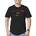 voices in my wifes head.png Men's Fitted T-Shirt (