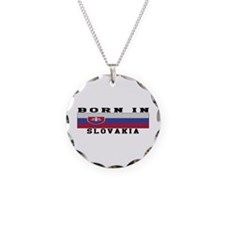 Born In Slovakia Necklace
