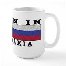 Born In Slovakia Mug