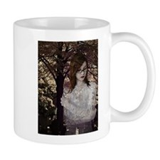 Woman In A Web Mug