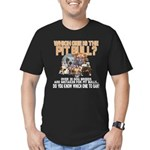 Find the Pit Bull Men's Fitted T-Shirt (dark)