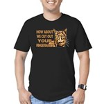 CUT OUT YOUR FINGERS.png Men's Fitted T-Shirt (dar