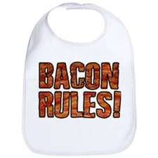 BACON RULES! T shirt Bib