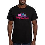 Daddy's Little Trucke Men's Fitted T-Shirt (dark)