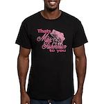 Miss Fisherman Men's Fitted T-Shirt (dark)
