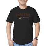 Keeping it Reel Men's Fitted T-Shirt (dark)