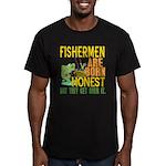 Born Honest Men's Fitted T-Shirt (dark)