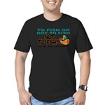 NOTTOFISH.png Men's Fitted T-Shirt (dark)