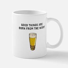 Born From The Wort (birth of beer) Mug