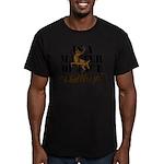 Hunt Like A Girl Men's Fitted T-Shirt (dark)