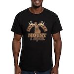Save a Deer Men's Fitted T-Shirt (dark)