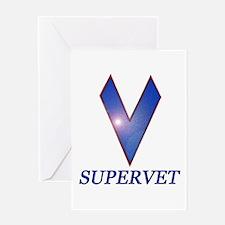 Supervet Greeting Card