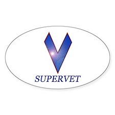 Supervet Decal