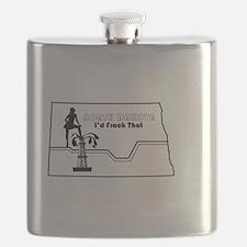 Frack Girl Flask