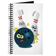 Bowling Ball and Pins Journal