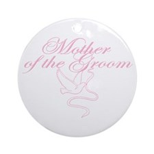 Dove Mother of Groom Ornament (Round)