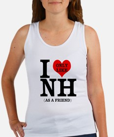 i only like nh as a friend Tank Top