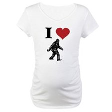 I LOVE SASQUATCH BIGFOOT T SHIRT Shirt