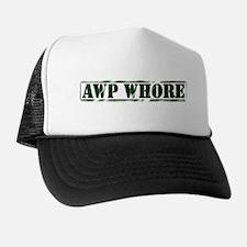 AWP Whore Trucker Hat