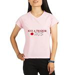 Kiss a Trucker Performance Dry T-Shirt