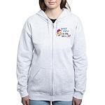 GIRLFISH.png Women's Zip Hoodie