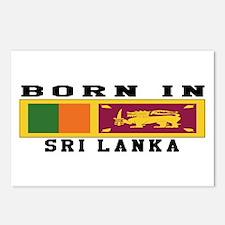Born In Sri Lanka Postcards (Package of 8)