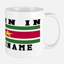 Born In Suriname Mug