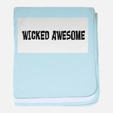 Wicked Awesome baby blanket