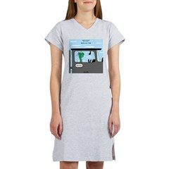 Snakes on a Train Women's Nightshirt